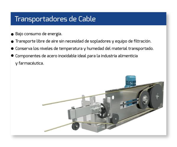 Transportadores Cable