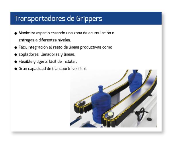 Transportadores-Grippers