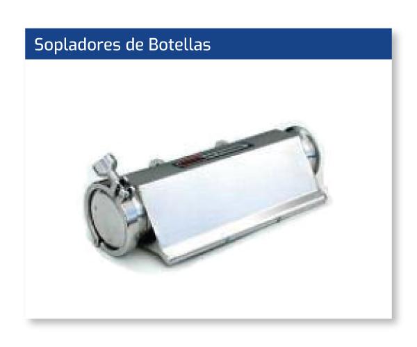 Sopladores de Botellas