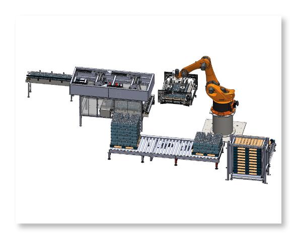 Paletizadores Robotizados